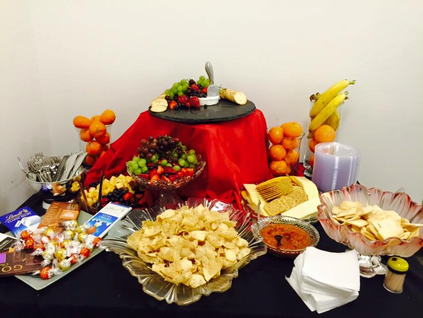 Private Greenroom Catering for Artists Pittsburgh Cultural Trust August Wilson Center